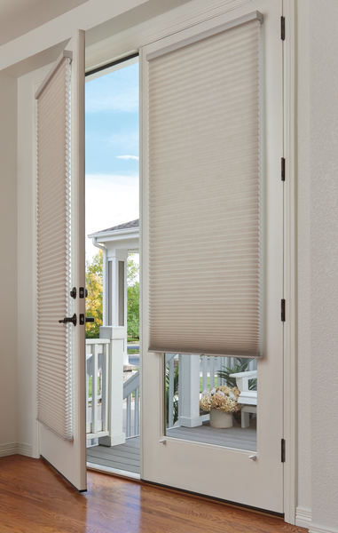 Duette Honeycomb Shades LR_Elan_Entry Open_CROP