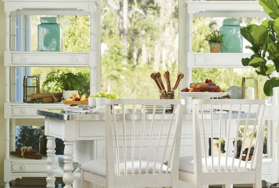 Paula Deen island table with chairs