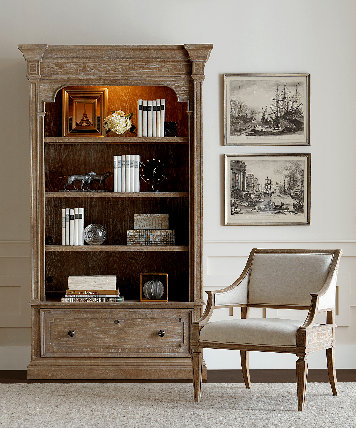 Stanley Weathersfield State bookcase