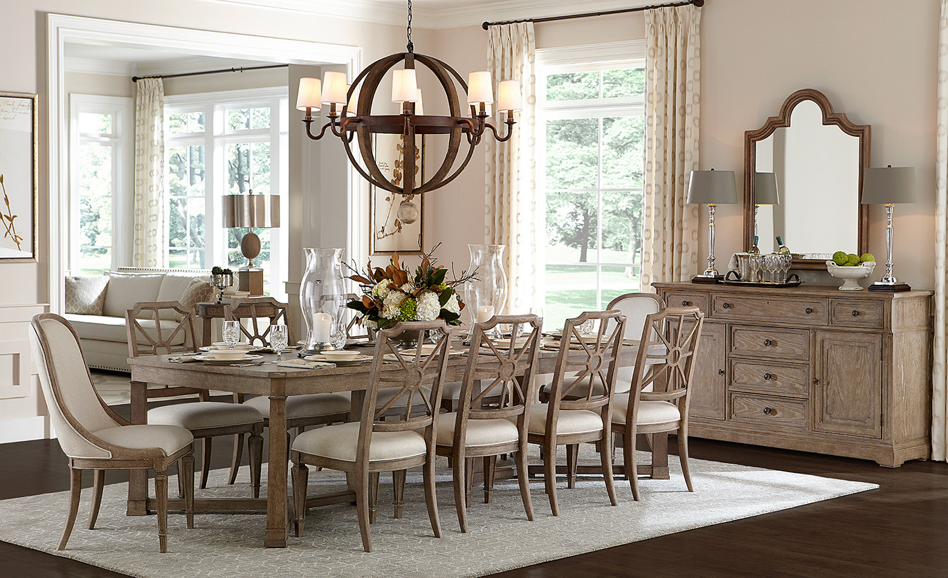 Stanley Weathersfield State dining set