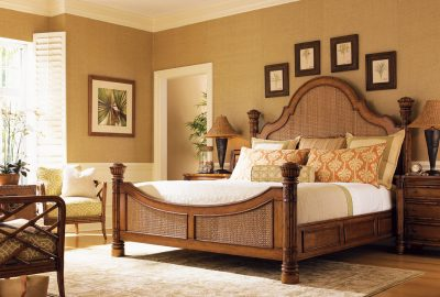 Tommy Bahama Island Estate Round Hill Bed