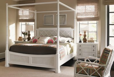 Tommy Bahama Ivory Key Poster Bed