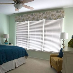 window in room with shutters