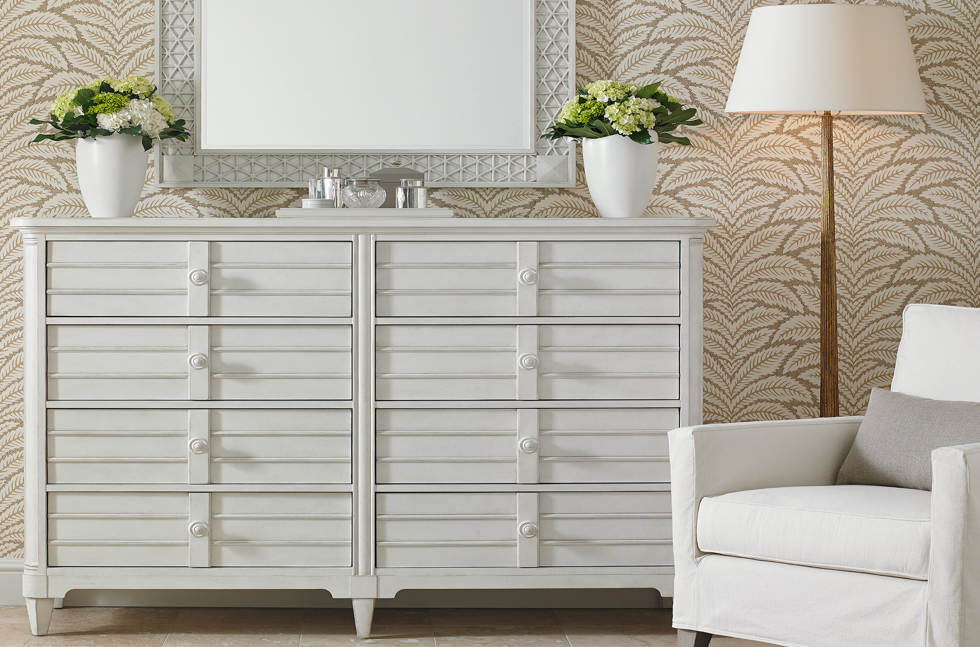 Cypress Grove Dresser with mirror