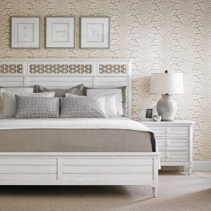 White Cypress Grove bed
