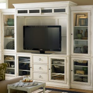 Summer Hill Large White Entertainment Center