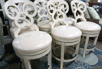 Summer Home Round Back Counter Stools