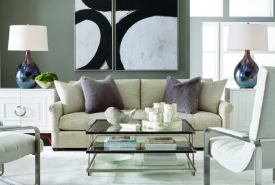 Larren Grey Paige Sofa with Aston Chair