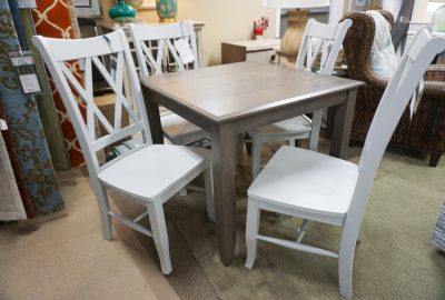 John Thomas Double X Side Chairs