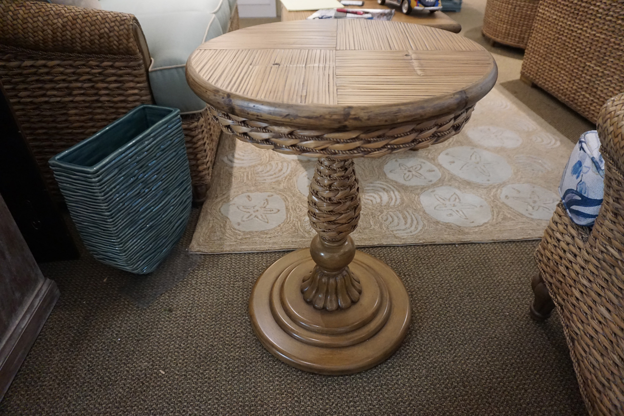 Caribe Palmetto End Table 2