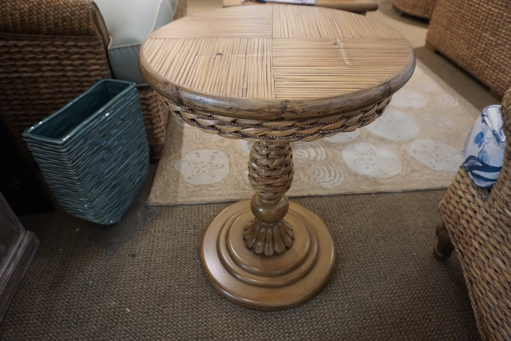 Caribe Palmetto End Table 3