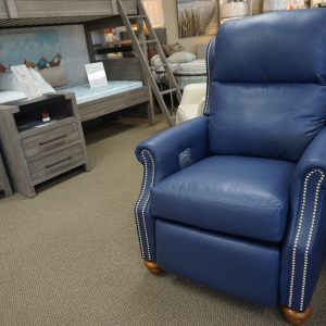 Comfort Design High Leg Recliner With Nail Heads 3