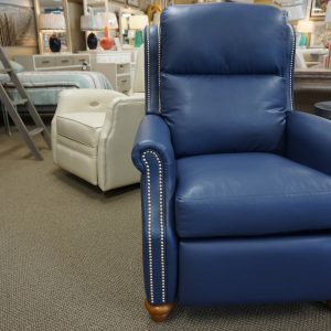 Comfort Design High Leg Recliner With Nail Heads 4