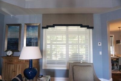 Window Topper with Shutters