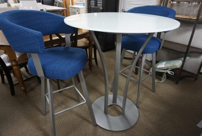Amisco Dalia High Top Table with 2 Chairs