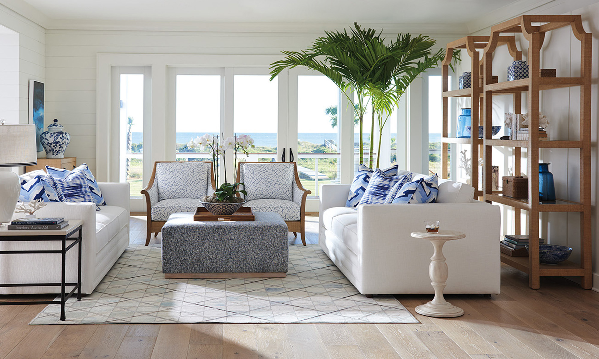 Mercer Sofa And Nantucket Chair