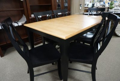 Canadel Table with 6 Chairs
