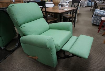 Caribe Westin Recliner Glider fabric Dupione Paradise