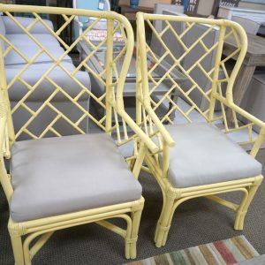 Palm Wing Chair Daffodil 2