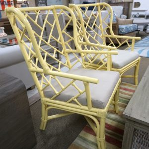 Palm Wing Chair Daffodil