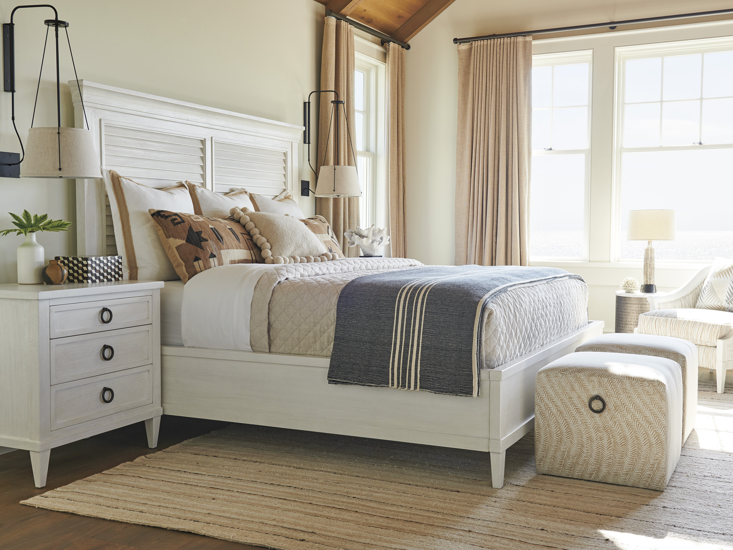 Ocean Breeze Panel Bed