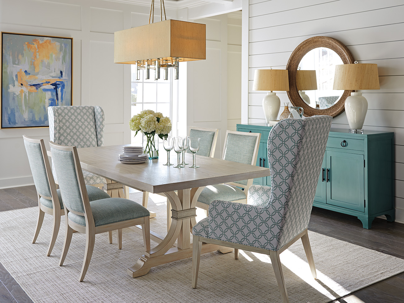 Barclay Butera oceanfront table