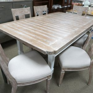 Stanley Juniper Dell Rect Dining Table & 6 Chairs 2