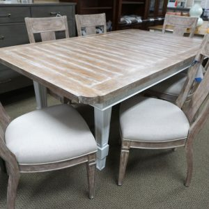 Stanley Juniper Dell Rect Dining Table & 6 Chairs 3