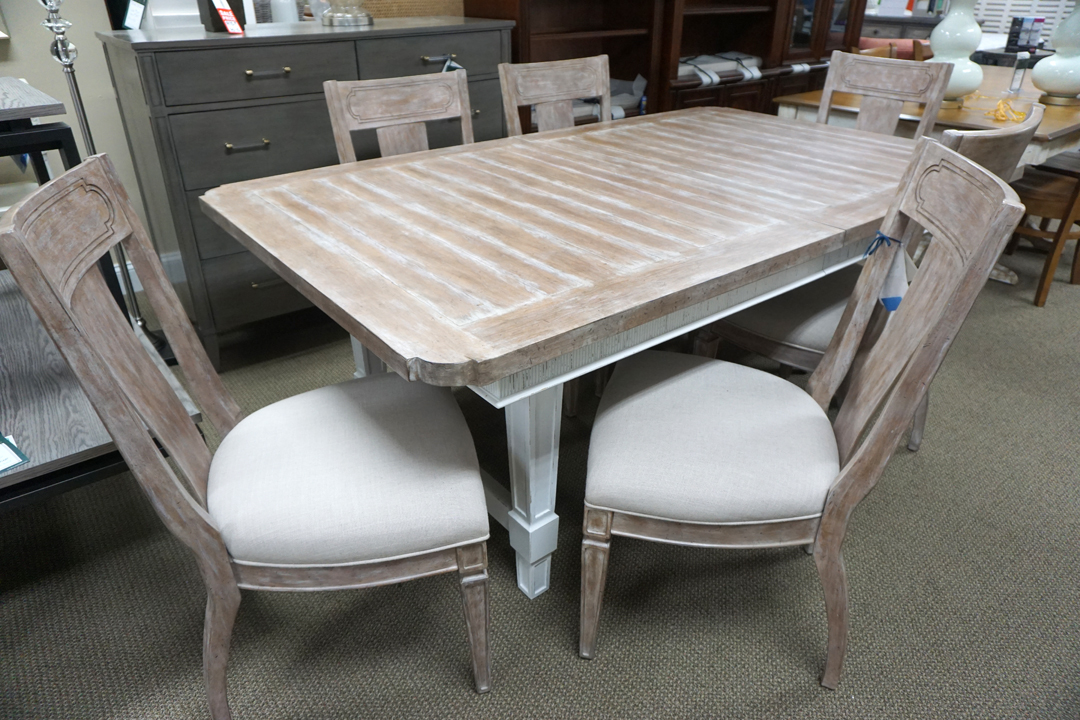 Stanley Juniper Dell Rect Dining Table & 6 Chairs