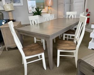 Canadel Dining Table With 6 Chairs2